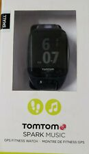 TomTom Spark Music GPS Fitness Watch - Blue Purple Small Excellent Condition
