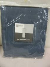 JCPenney Home Collection Rod-Pocket Panel Curtain Charcoal Blue