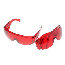 2 Pairs Dental Protective Safety Goggles Glasses Eye Protection Eyewear Red