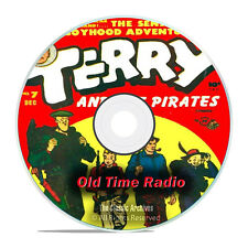 Terry & The Pirates, 722 Old Time Radio Shows, Action Adventure mp3 DVD G78