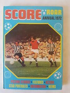 Score n Roar Annual 1972 Hardback