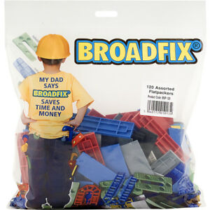 BROADFIX BAG OF 120 ASSORTED FLAT PACKERS SHIMS
