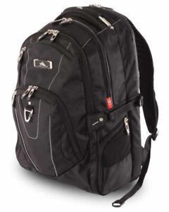 High Sierra Connect 17 inch RFID Laptop Backpack Black