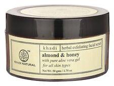 Khadi Natural Almond & Honey Herbal Exfoliating Facial Scrub
