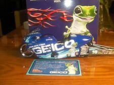 Rare GEICO Karen Stoffer2005 Racing Champion Pro Stock Motorcycle 499 OF1002 1/9