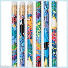 FISH Pencils x 12 - School Teacher - Rewards - End Term -Santa Stocking - Ocean
