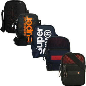 Superdry Crossbody Cross Body Shoulder Side Bag Essentials Messenger Small Bags