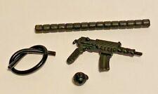 VINTAGE 1989 GI JOE FRAG VIPER MACHINE GUN GRENAGE HOSE & TUBE