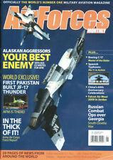 AFM 1/2010 C-17_SPAIN EUROFIGHTER_AAC AFGH_AK AGGRESSORS_JORDAN F-16_OSSETIA CMB