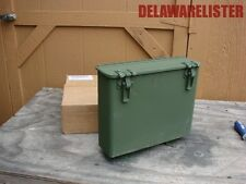 *US Military Truck/Humvee/Jeep Tool Map Gear Metal Storage Box/Case NOS (New)