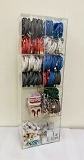 200 Units Cell Phone Accessories Display Rack Charger Cable Wholesale Lot Metal