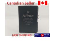 Nikon Genuine 27126 EN-EL14 Rechargeable Li-Ion Battery, Black