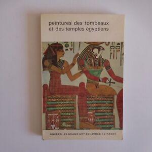 Peintures tombeaux temples égyptiens 1962 art ancien Flammarion UNESCO N7597