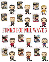 Funko Pop NHL Hockey Wave 3 Vinyl Figure - Fleury, Rinne, Hall, Oshie, Eichel ..