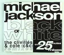Maxi CD - Michael Jackson - Black Or White - A6147