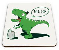 Tea Rex Funny Dinosaur Novelty Gift Mug Coaster
