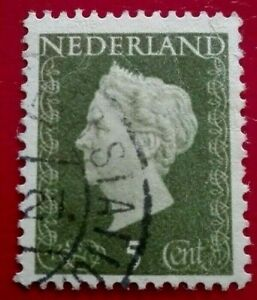 Netherlands:1947 -1948 Queen Wilhelmina - New Drawing. Rare & Collectible Stamp.
