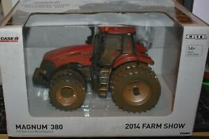 "Ertl 14928A Case IH Magnum 380 ""Dusty Muddy"" Tractor 1:32 Scale 2014 Farm Show"