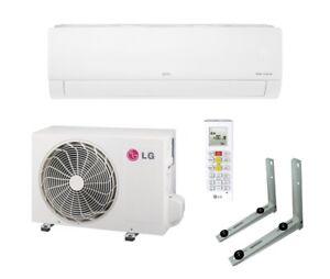 SEHR LEISE Klimaanlage LG Dual Inverter Klimagerät 3,5 kW R32 Fernbedienung WiFi