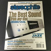Stereophile Magazine October 2007 - Esoteric SA-60 Universal Player / Newsstand