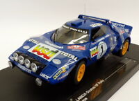 Sun Star 1/18 Scale 4519 - Lancia Stratos HF - 2nd Rally Monte Carlo 1980