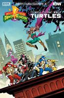 Power Rangers Teenage Mutant Ninja Turtles #4 Cvr A TMNT (2020 Boom!) Mora