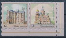 Briefmarken aus Russland & der Sowjetunion mit Architektur-Motiv als Satz