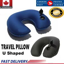 Neck Travel Pillow Head Rest U Shaped Cushion Support Relax Car Plane (2 Color)