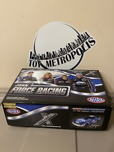 John Force Racing 1:24 NHRA Blue Funny Car Die Cast Metal MIB
