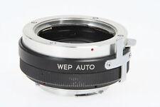 WEP Auto Kinotelex, 2fach Converter mit Minolta MD Bajonett