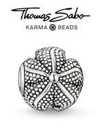Genuine THOMAS SABO KARMA 925 sterling silver STARFISH charm bead