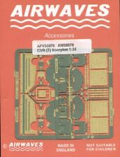Airwaves 1/35 britannique CVR (T) fv101 scorpion graver pour AFV CLUB KIT