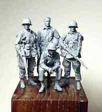 1/35 Resin Figure Model Kit US Soldiers Infantry Normandy WWII Unpainted Unassam