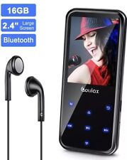 MP3 Player, COULAX 16GB MP3 Player with Bluetooth 4.0, MP3 Music Player
