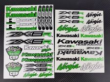 ZX-6R Ninja motorcycle pro quality stickers decals helmet zx6r Laminated green