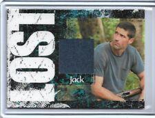 Lost Relics Jack Shephard Matthew Fox Relic Costume Card Serial #242/350