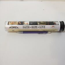 Faith Hope Love Vinyl Wall Lettering His Hands