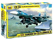 ZVEZDA 7297 Russian Naval Fighter SUKHOI SU-33 FLANKER-D 1/72