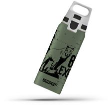 SIGG Water Bottle Boy ONE Brave Mountain Lion 0.6L Kids Aluminium BPA Free New