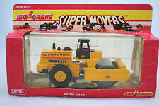 Majorette 3038 Mobile 82 Performant ROAD ROLLER w/ Rotating Roller Mint in Box