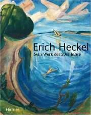 Fachbuch Erich Heckel, Sein Werk der 20er Jahre, wichtiges Buch statt 39,90 Euro