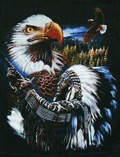 Kinder Pullover Indianer+Adler, Gr.2XL XXL,146*152, Häupling Western Cowboy Wolf