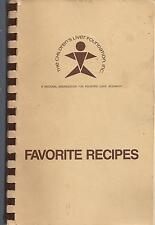 *NATIONAL CHILDREN'S LIVER FOUNDATION FOR RESEARCH COOK BOOK *FAVORITE RECIPES
