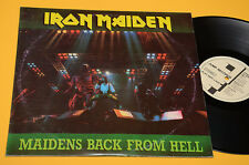 IRON MAIDEN 2LP MAIDENS BACK FROM HELL-MILANO 16-12-86 EX !! 1°ST ORIG 1987 OLAN