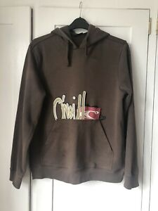 O'Neill brown hoodie sweatshirt. Size Large.