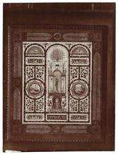 Foto Citrat 1900 - Modell Wandbehang Zeichnung von J.F Knöcherne,- French Textil