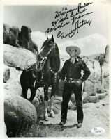 GENE AUTRY JSA COA Hand Signed 8X10 Photo Autograph Authenticated
