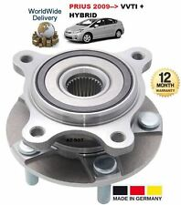 FOR TOYOTA PRIUS HYBRID 1.8i 2009 > NEW FRONT WHEEL BEARING HUB ASSEMBLY KIT