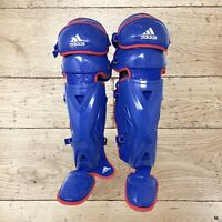 "Adidas Pro Series Catcher's Leg Guards 2.0 Triple Knee S98300 Baseball Size 17"""