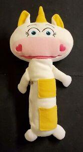 Unicorn Kids Car Seat Belt Cover Pad Plush White